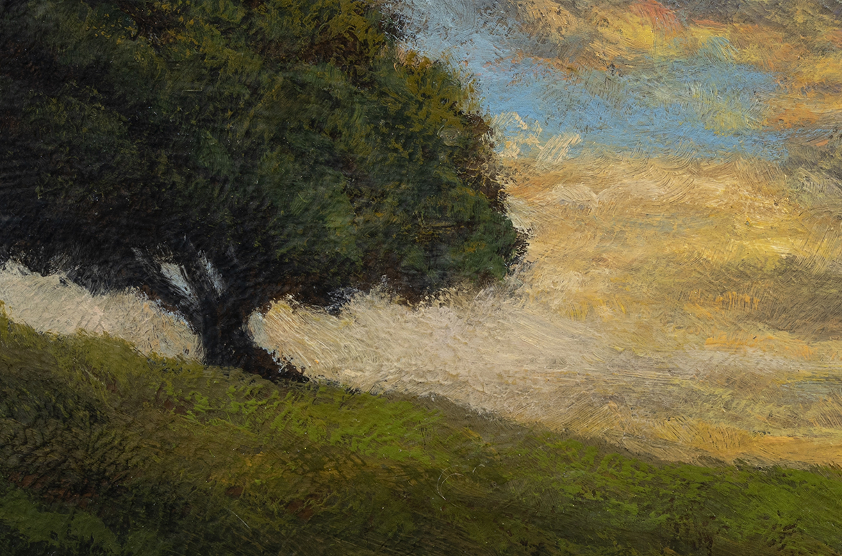 Nearing Twilight by M Francis McCarthy - 4x6 (Detail)
