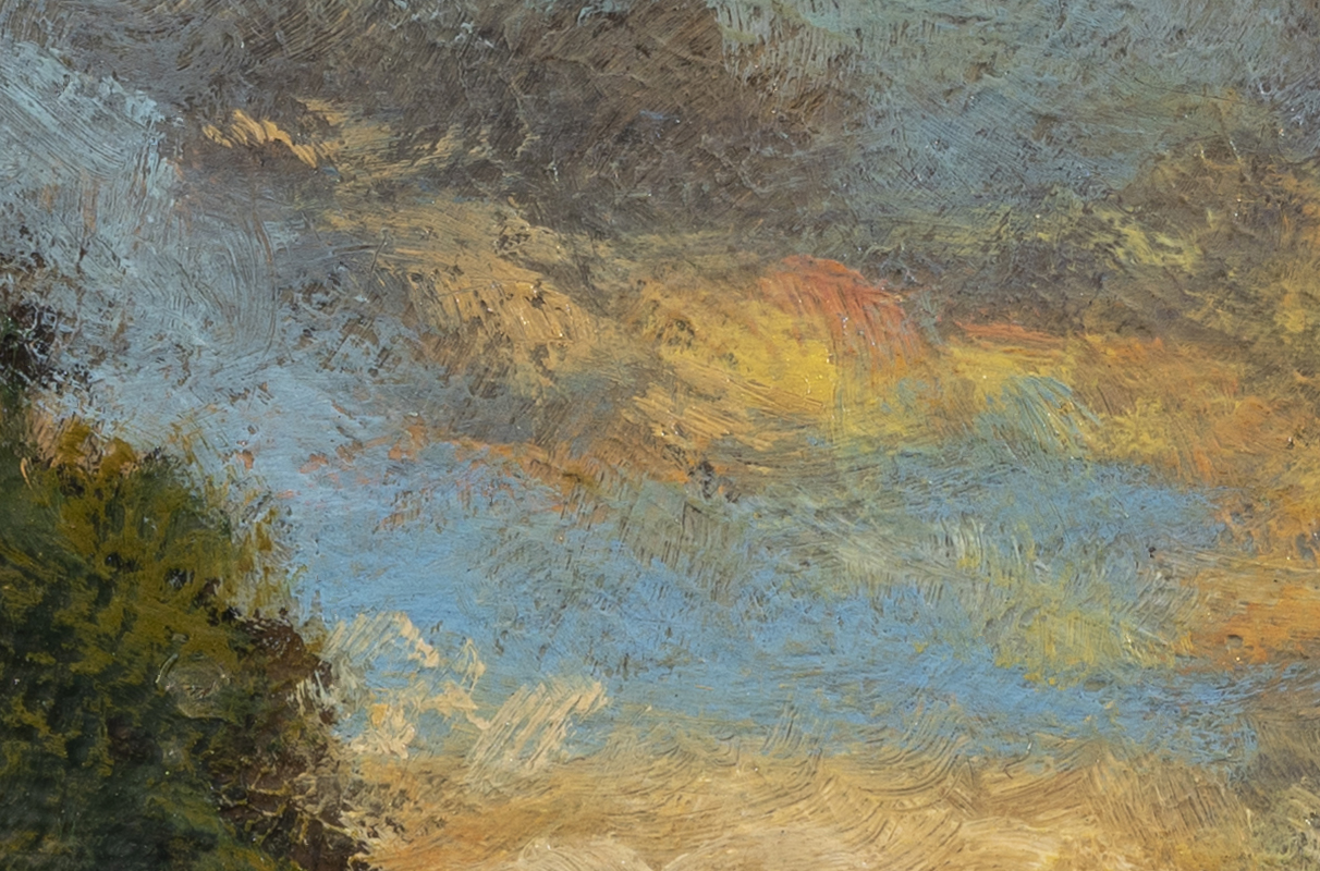 Nearing Twilight by M Francis McCarthy - 4x6 (Detail 2)