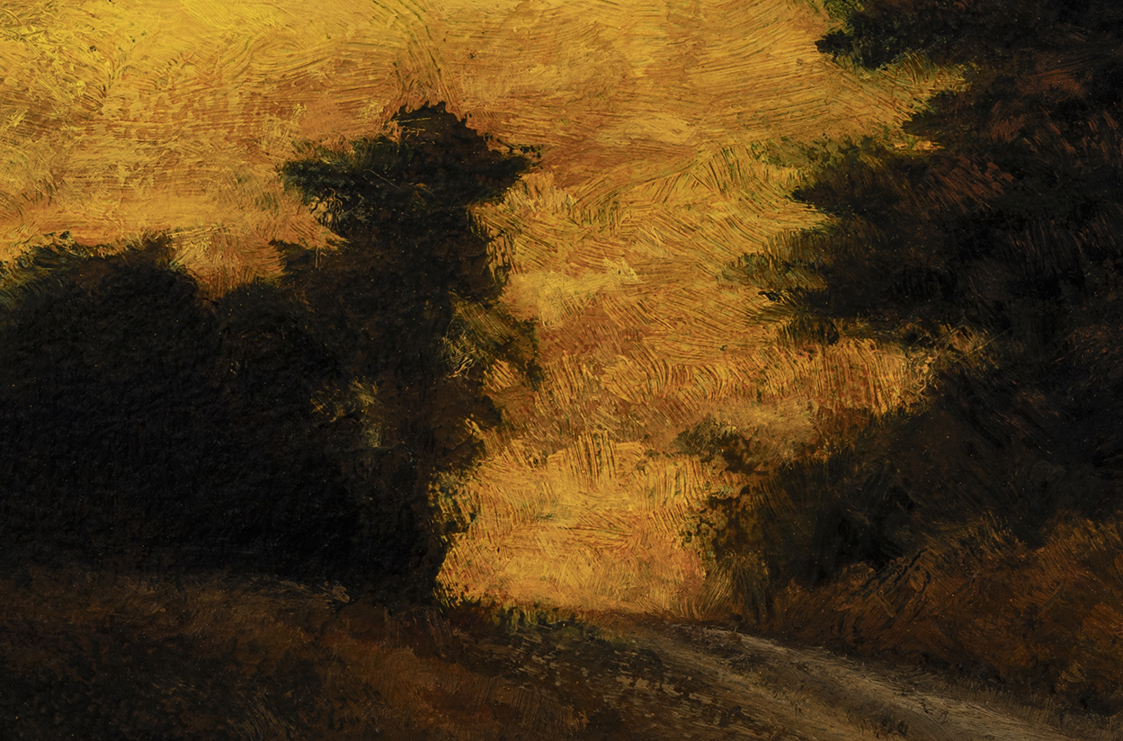 Sunset Road by M Francis McCarthy - 4x6 (Detail)