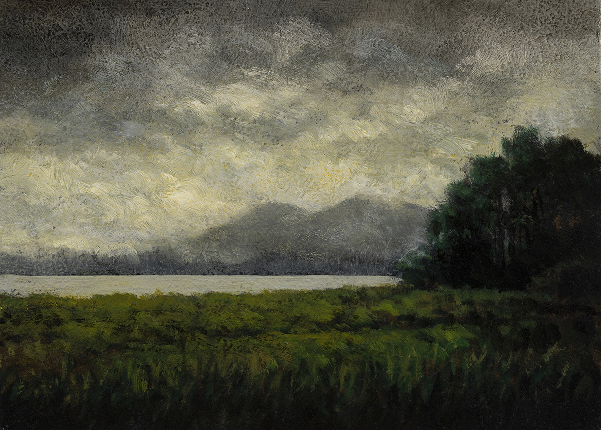 After the Storm by M Francis McCarthy - 5x7 Oil on Wood Panel