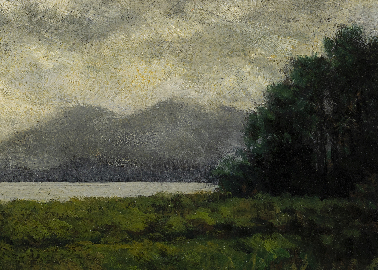 After the Storm by M Francis McCarthy - 5x7 (Detail)