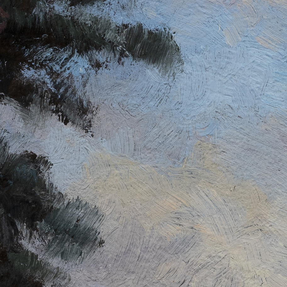 Evening is Coming by M Francis McCarthy - 8x8 (Detail 2)