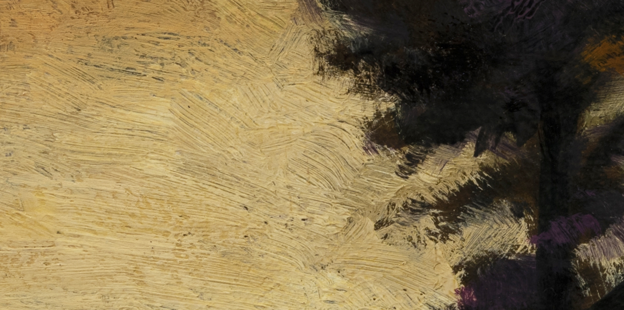 Close to Dusk by M Francis McCarthy - 5x10 (Detail 2)