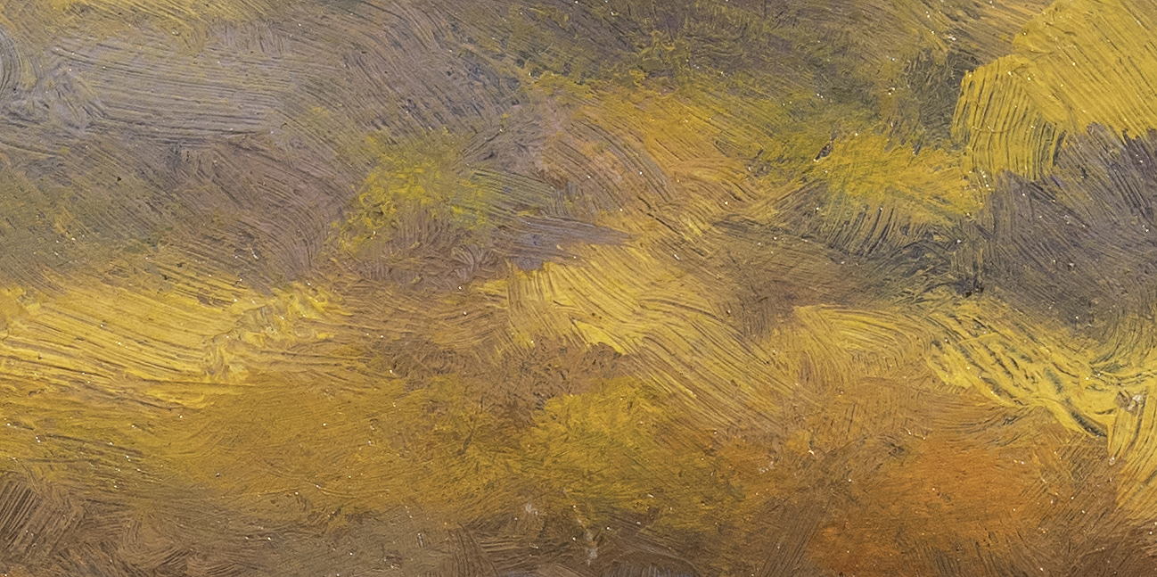Golden Field by M Francis McCarthy - 5x10 (Detail2)