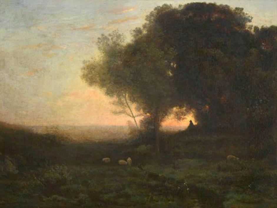 Original of Camille Corot 'Landscape'