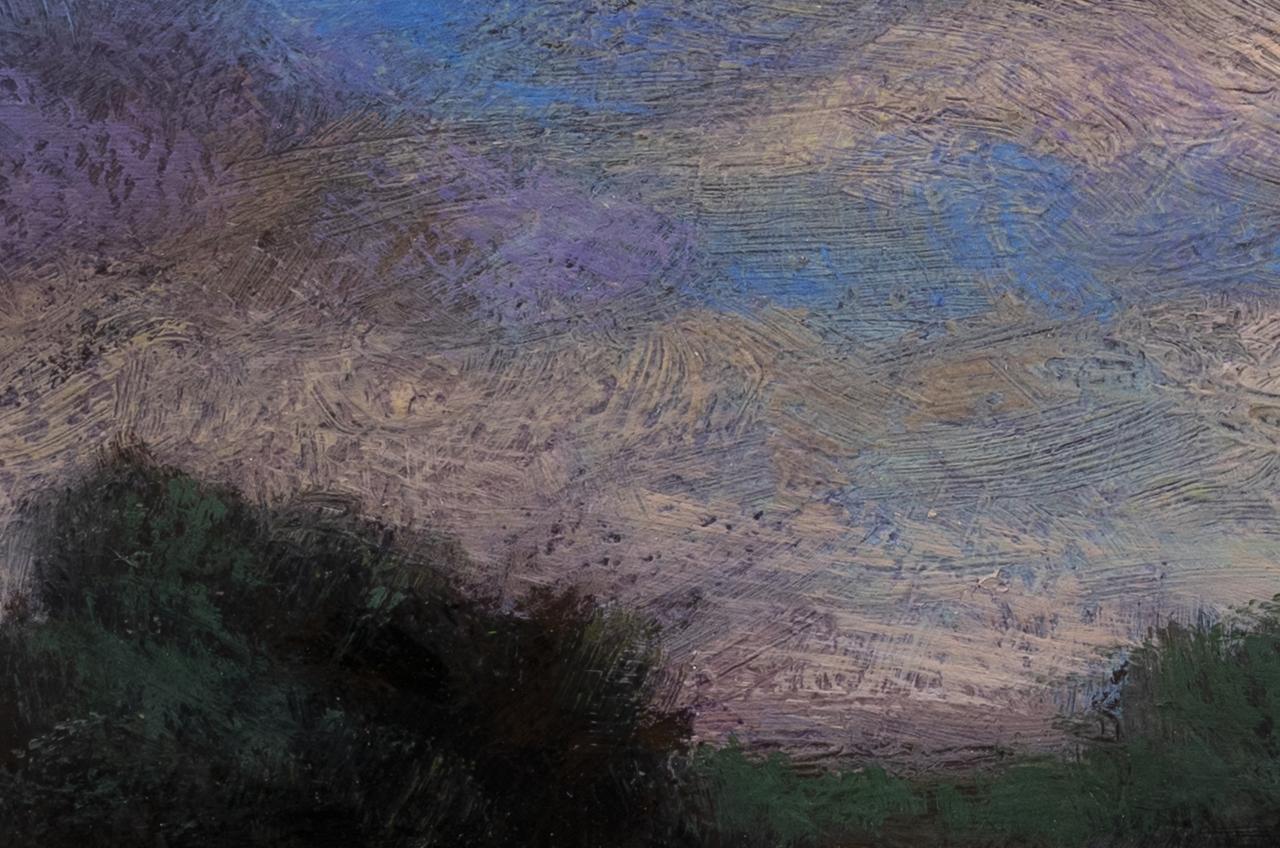 Morning Lake by M Francis McCarthy - 4x6 (detail 2)