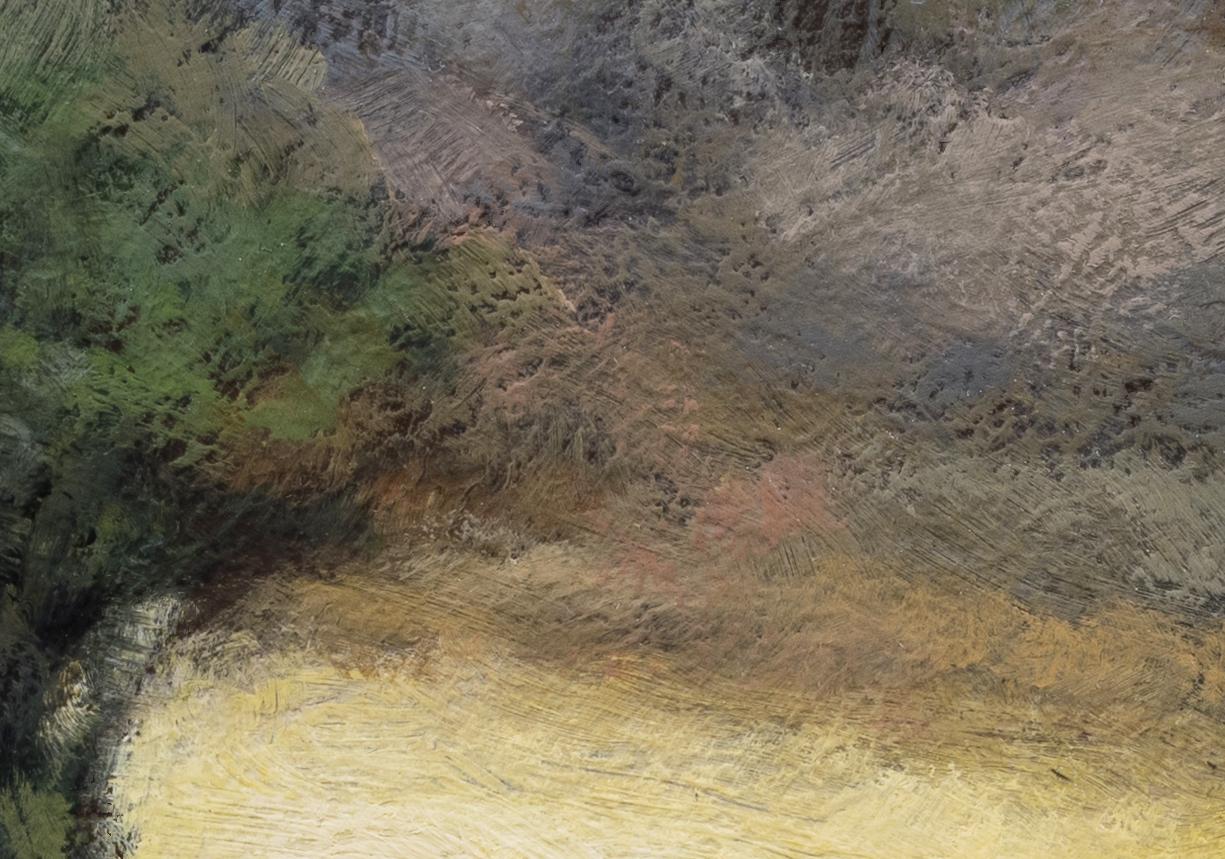 John Francis Murphy Landscape by M Francis McCarthy - 7x10 (Detail 2)