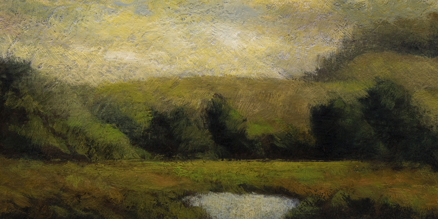 Early Summer by M Francis McCarthy - 5x10 (Detail)