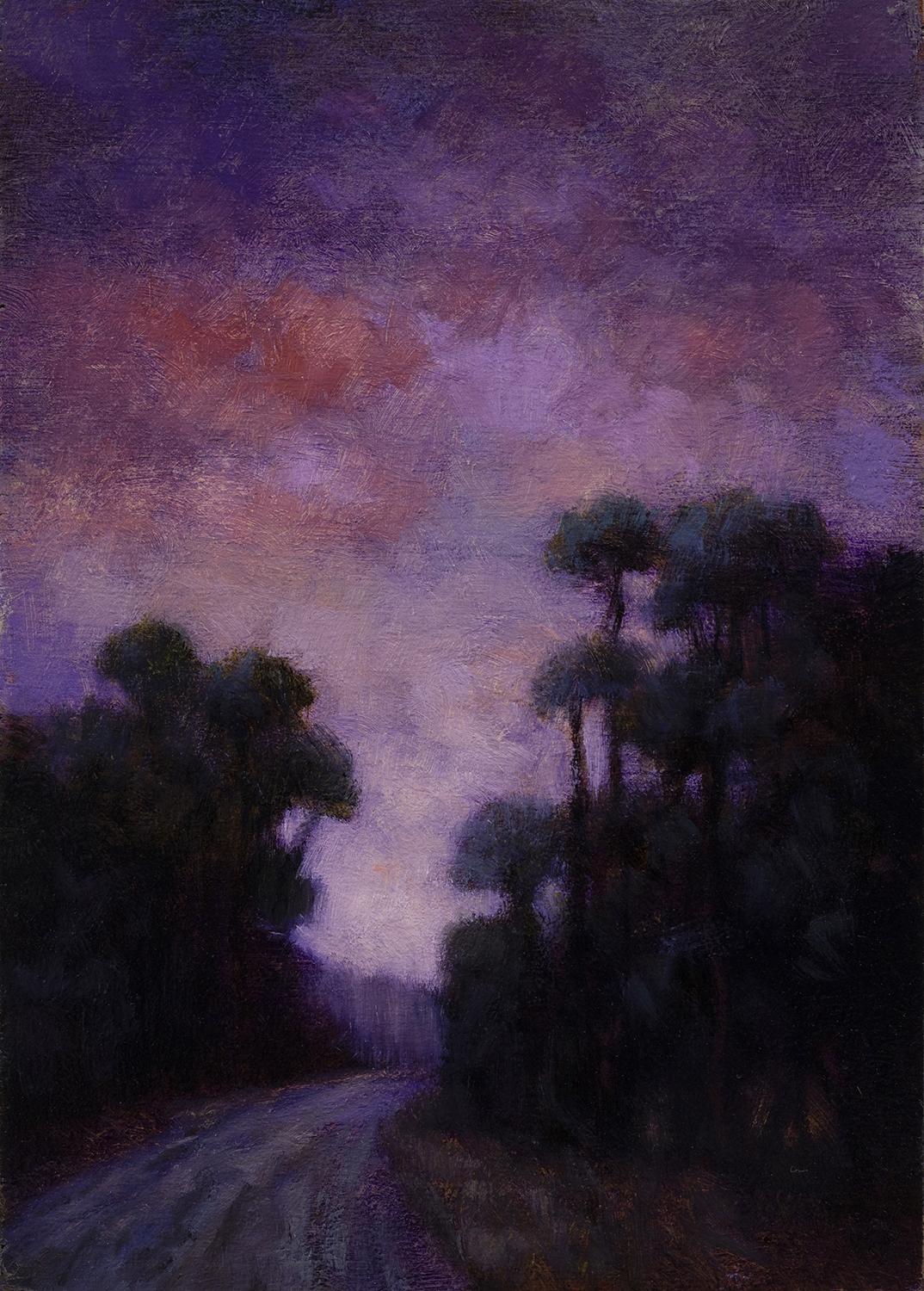 Morning Passage by M Francis McCarthy - 5x7 Oil on Wood Panel