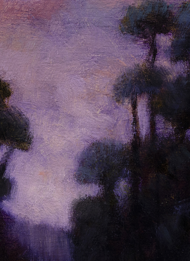 Morning Passage by M Francis McCarthy - 5x7 (Detail)