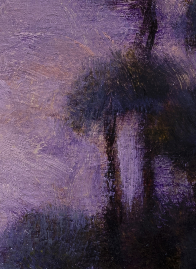 Morning Passage by M Francis McCarthy - 5x7 (Detail 2)