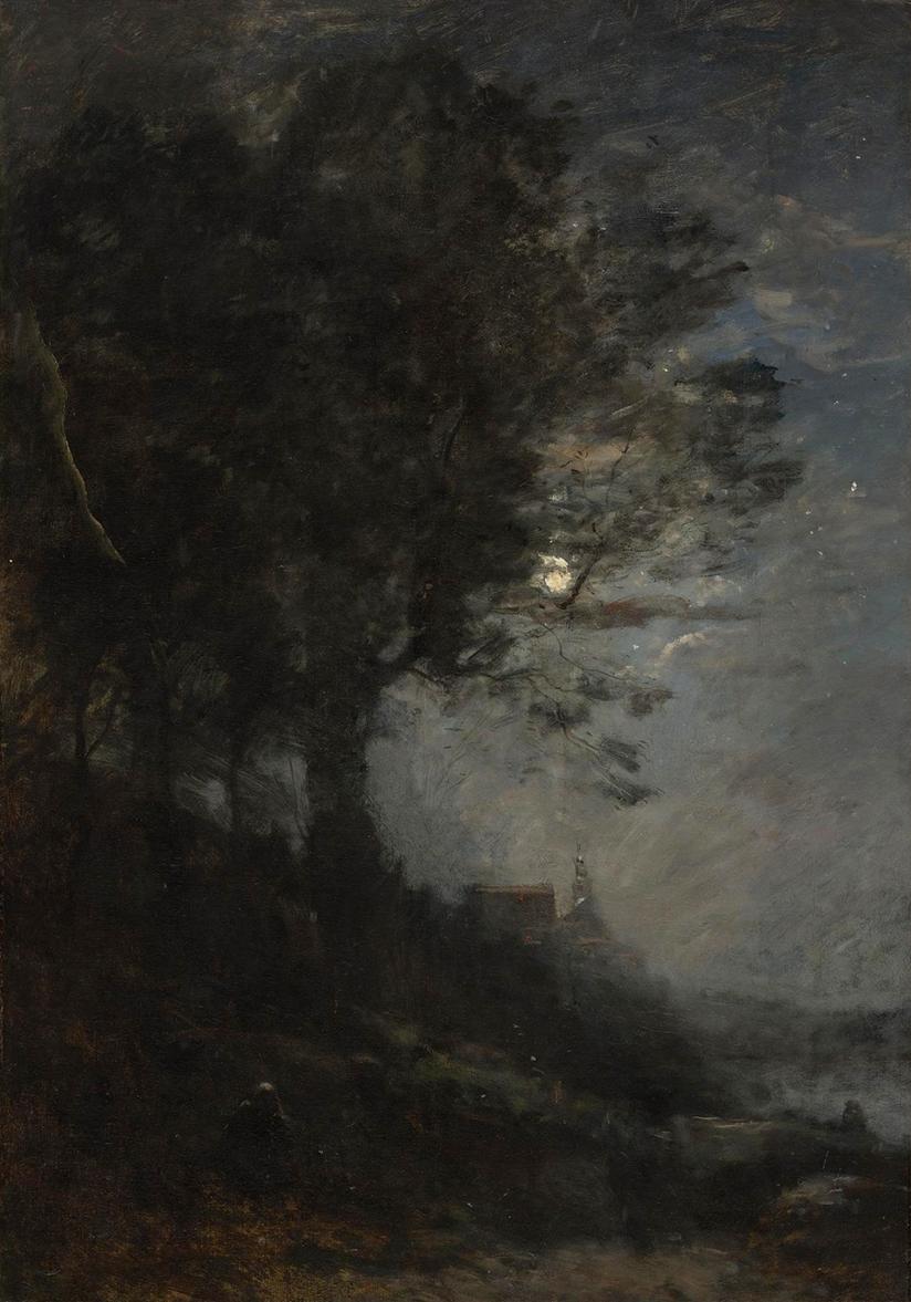 Camille Corot Lisere de Bois (Original)