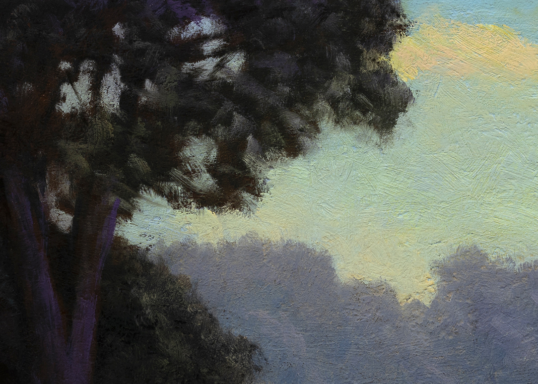 Morning by the Bay by M Francis McCarthy - 10x14 (Detail)