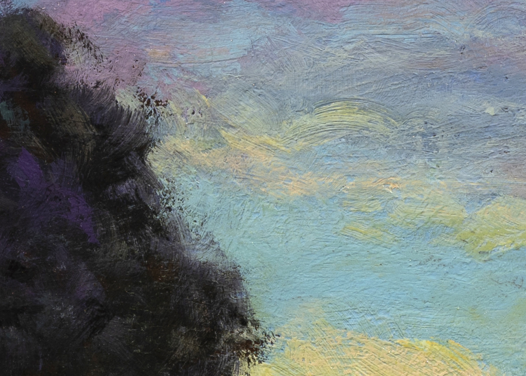 Morning by the Bay by M Francis McCarthy - 10x14 (Detail 2)