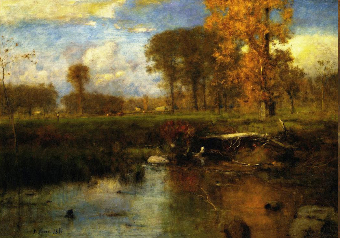 George Inness Spirit of Autumn (Original)