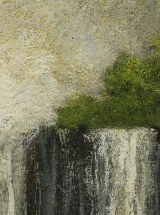 Near the Falls by M Francis McCarthy - 6x8 (Detail 2)