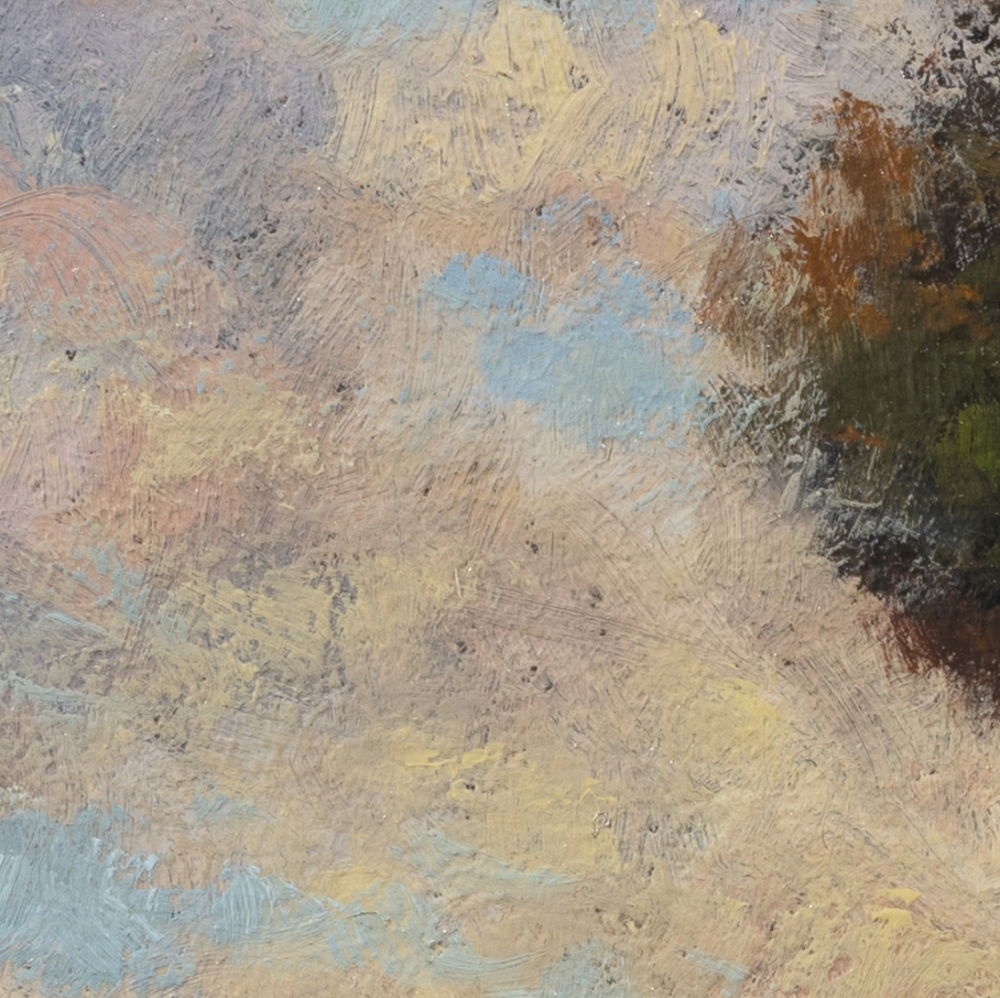 Into the Field by M Francis McCarthy - 8x8 (Detail 2)