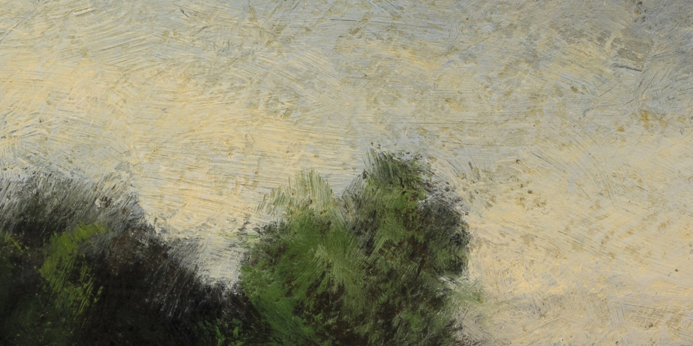 Summer Copse by M Francis McCarthy - 5x10 (Detail 2)