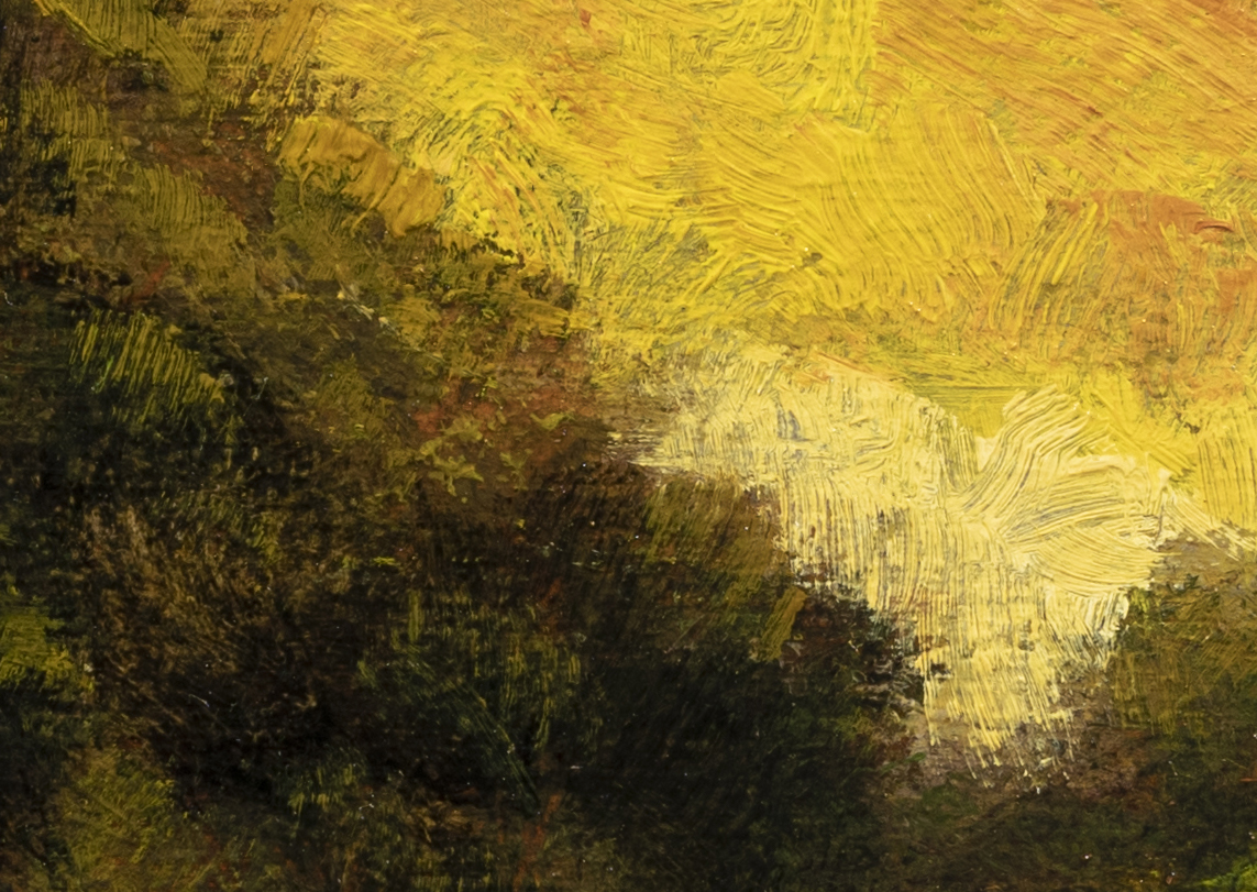 Riverside Reflections by M Francis McCarthy - 5x7 (Detail 2)