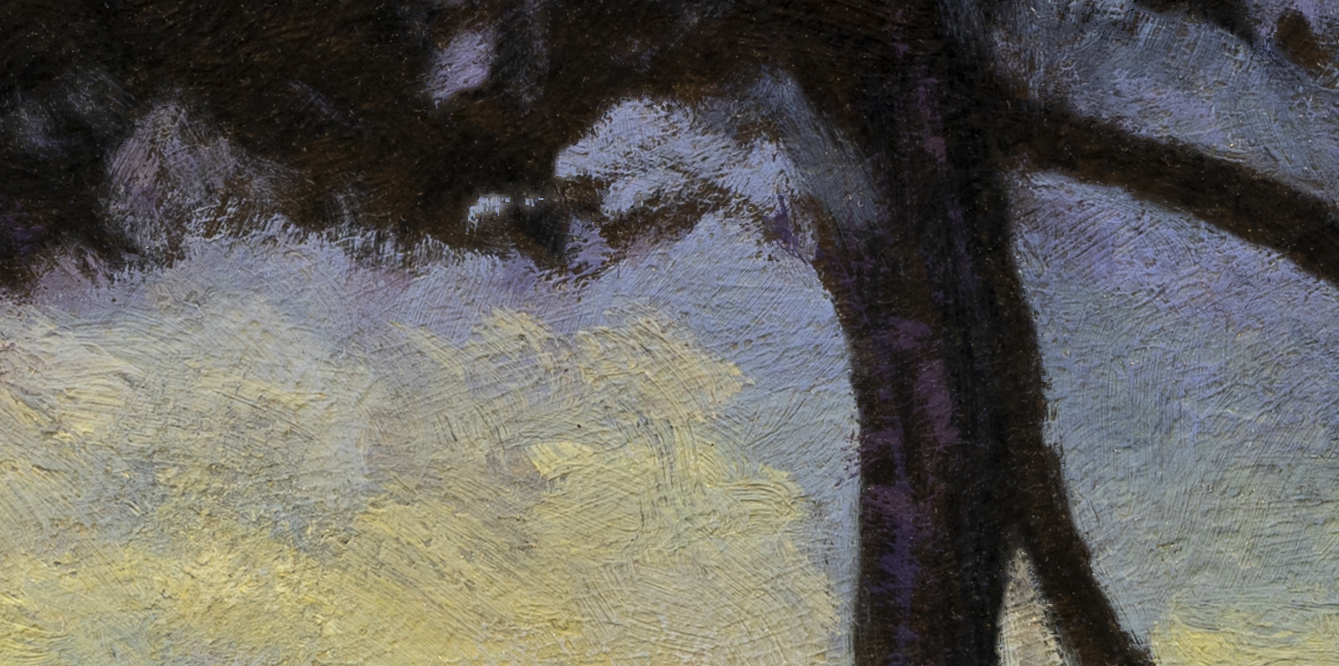 Morning Bay by M Francis McCarthy - 7x14 (Detail 2)