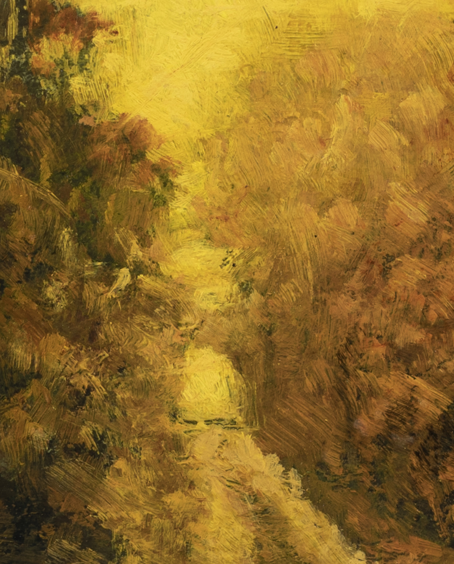 Golden Path by M Francis McCarthy - 8x10 (Detail 2)