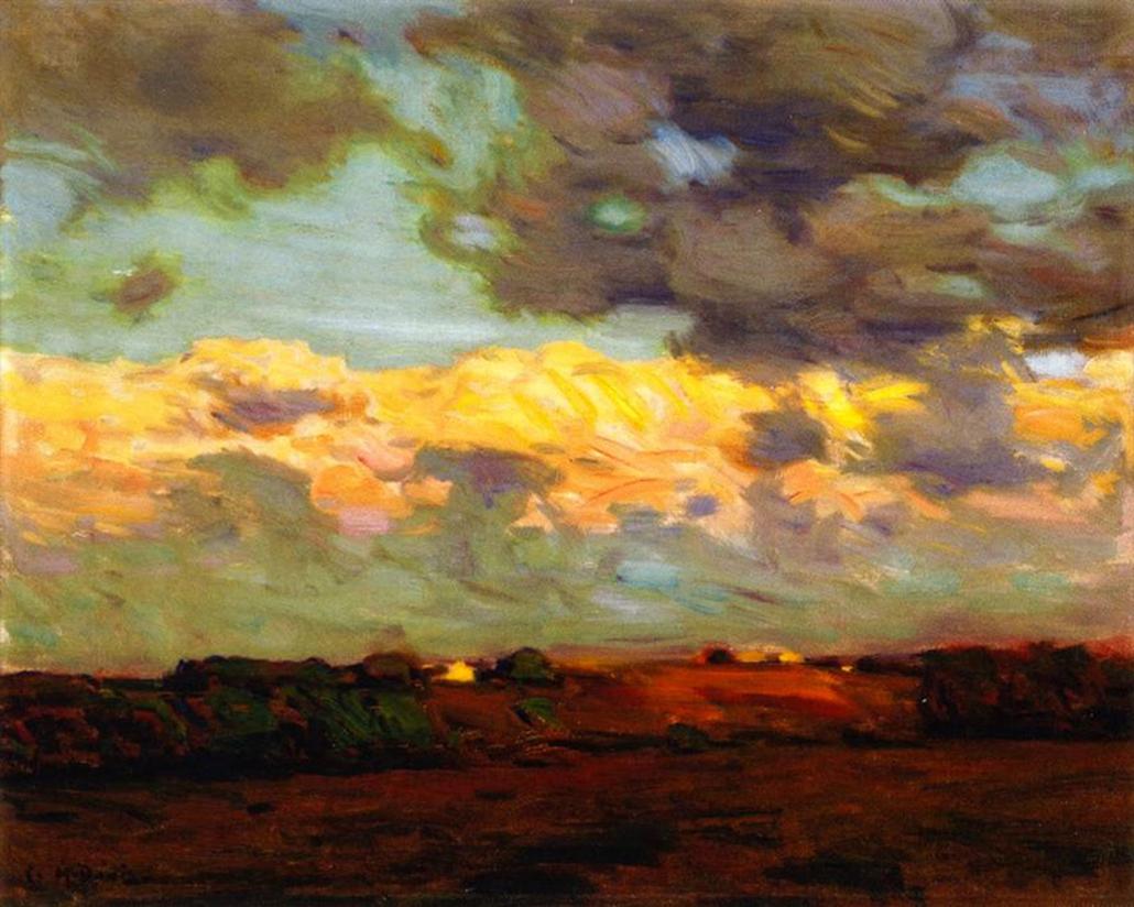 Original - Charles Harold Davis Clouds after Storm