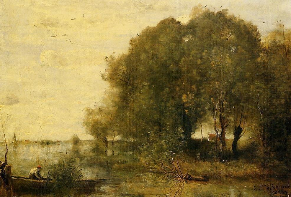 Corot Original Painting