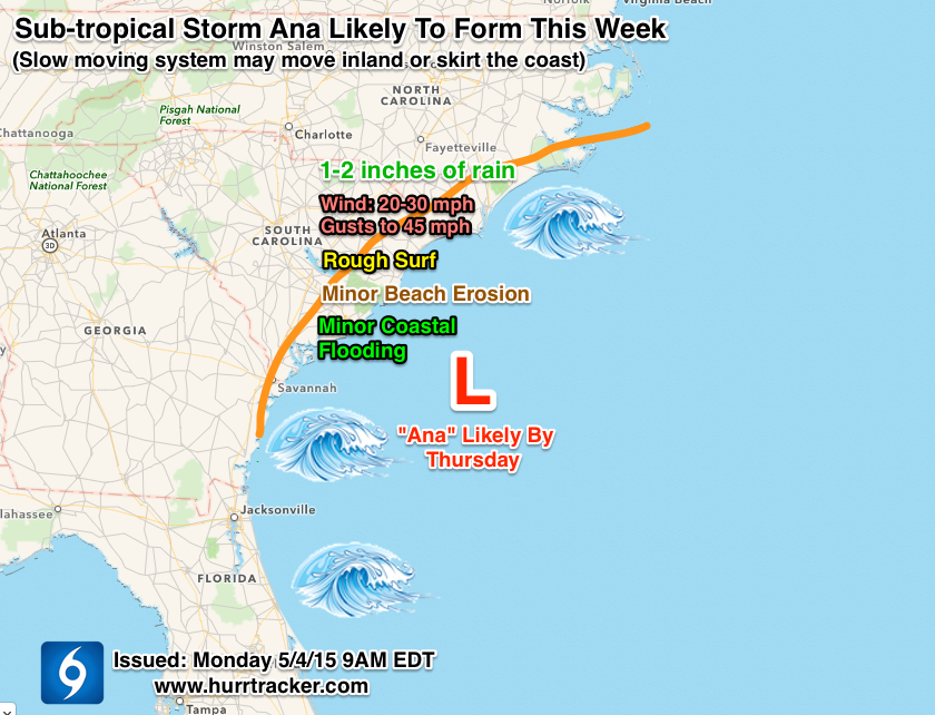 Expected impacts using the latest model data. Subject to change.