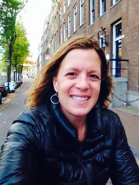 Following my wild on bike in Amsterdam...a little tricky at times but the joy!