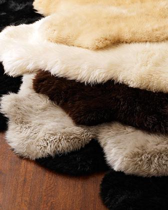 Wool Sheepskin Rug