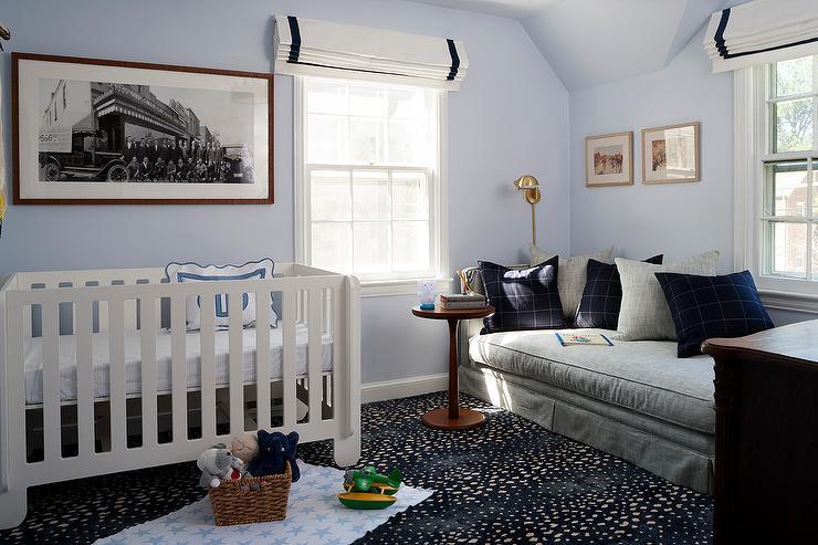 gray-blue-boy-nursery-skirted-daybed-grosgrain-roman-shade.jpg
