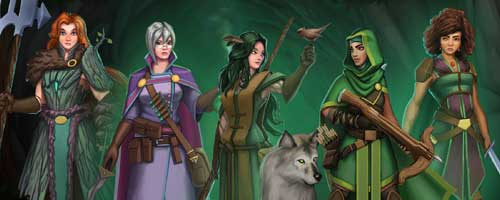 Forest of Shadows has arrived on all platforms! — Handelabra Games