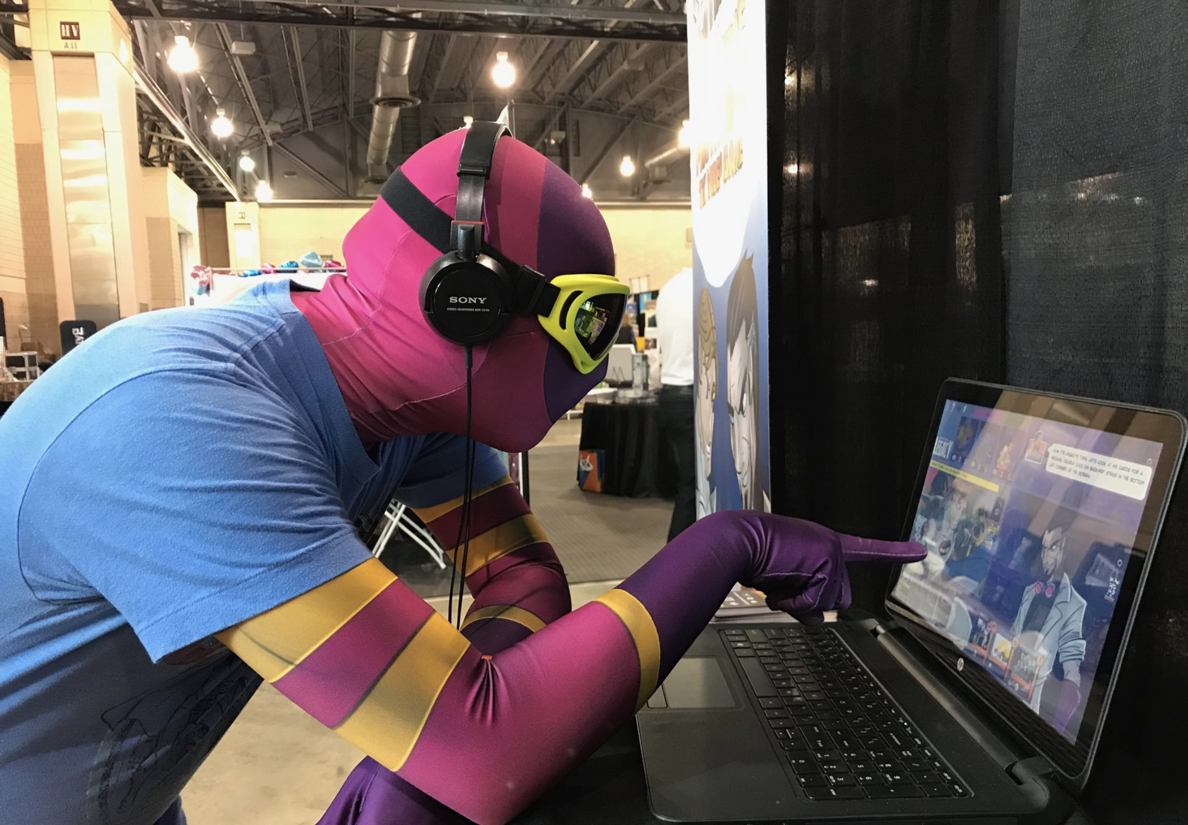 PAX Unplugged 2017 -  Jeremy  as Guise as a Con Attendee