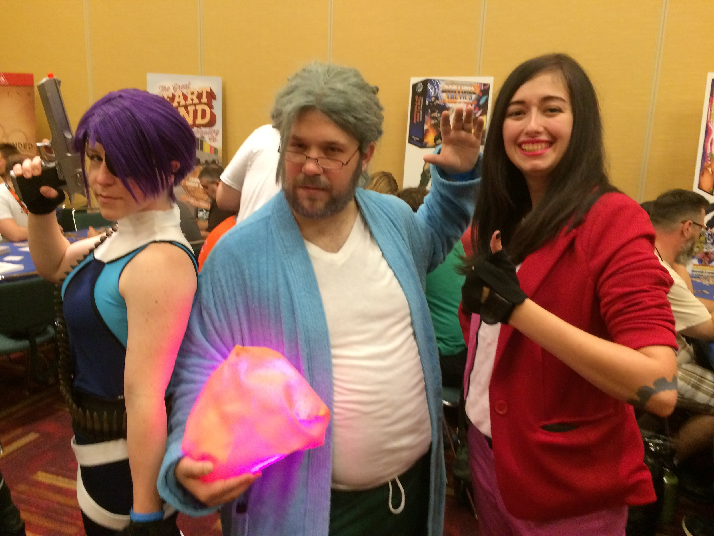 GenCon 2016 - Expatriette, The Scholar, and Friction