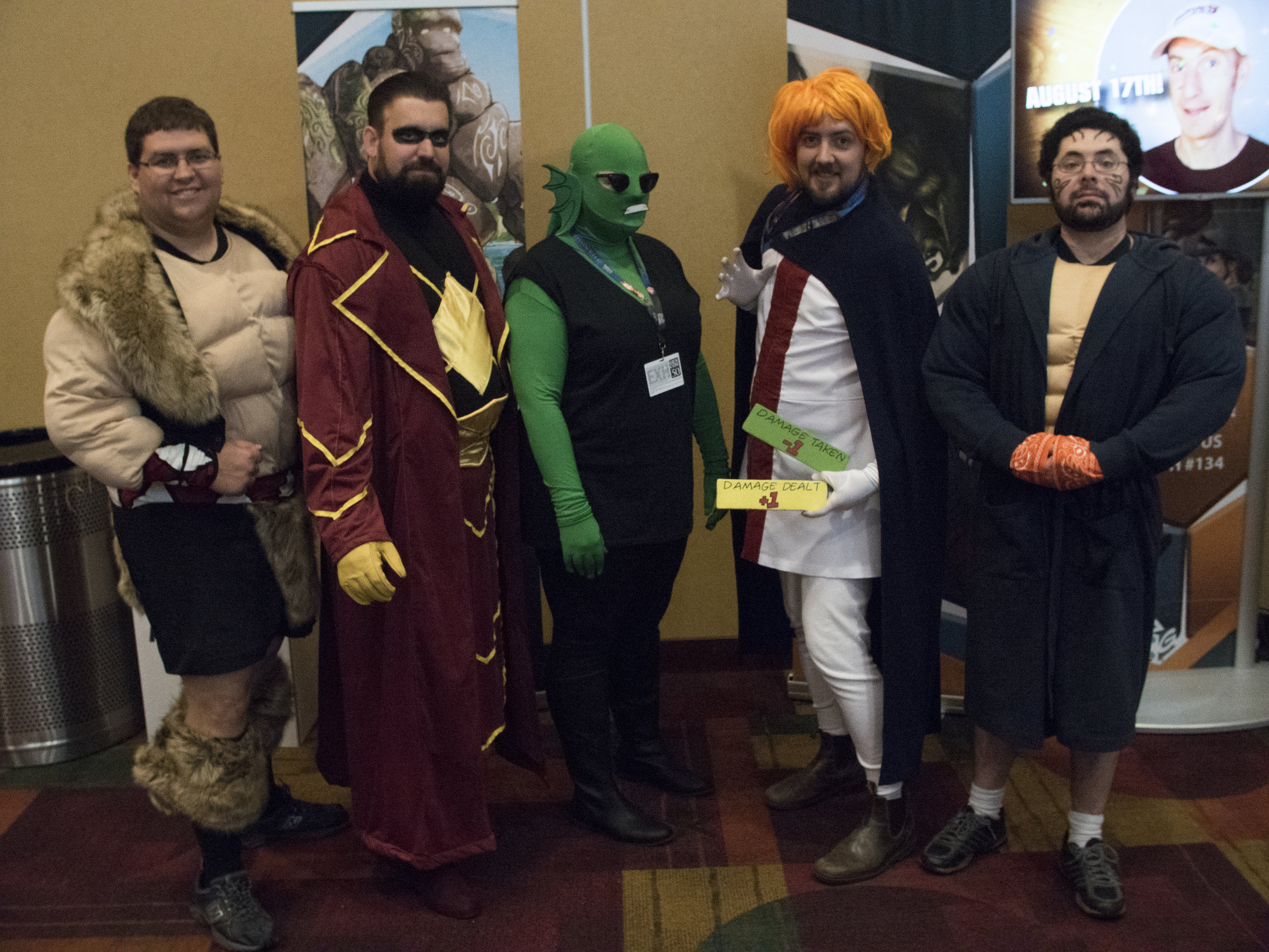 GenCon 2017 - Haka, Prime Wardens Captain Cosmic, Xtreme Prime Wardens Tempest, The Argent Adept, and The Eternal Haka
