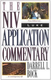 "2. The NIV Application Commentary  – this is a deeper commentary, which you can use as a supplement to Swindoll's commentary. It takes you from ""original meaning"" to ""bridging context"" to ""contemporary meaning."" This is a great commentary!"