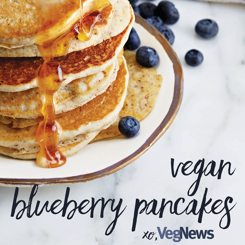 Natalie designed a series of graphics to promote the weekly recipe newsletter on VegNews Magazine's social media networks.