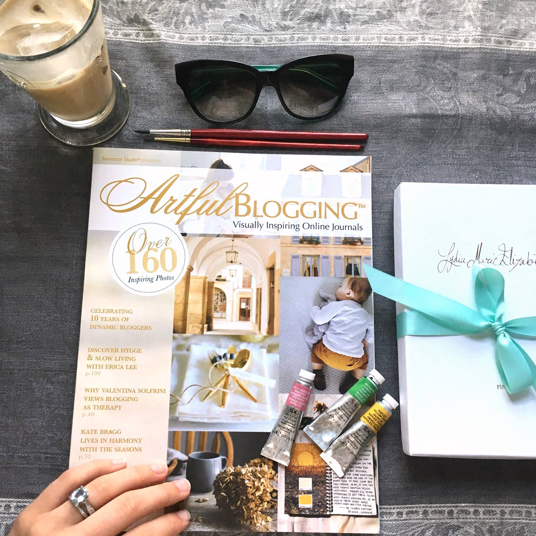 Lydia Marie Elizabeth featured in Stampington & Company's Artful Blogging Magazine (2).jpg