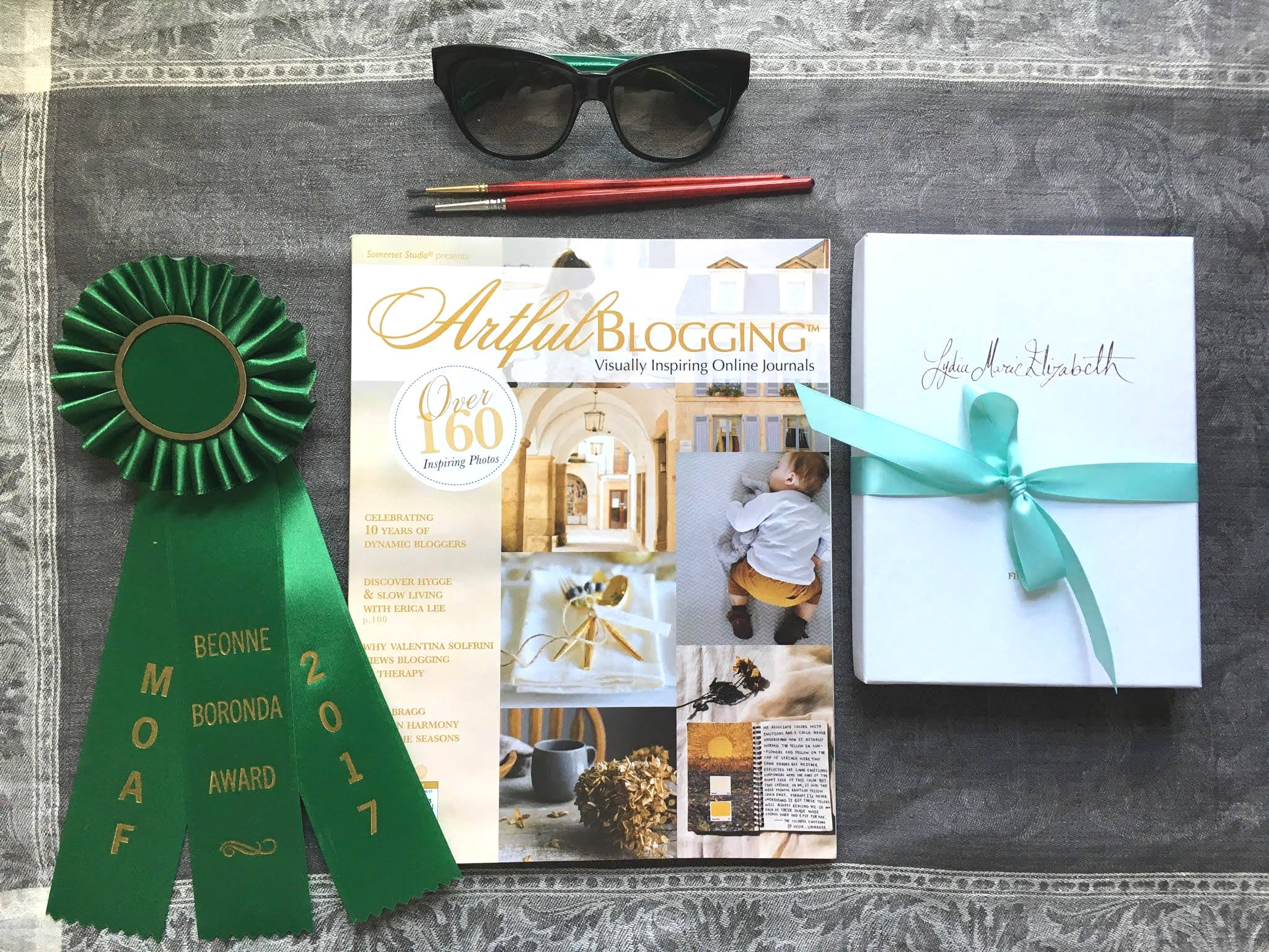Lydia Marie Elizabeth featured in Stampington & Company's Artful Blogging Magazine.jpg