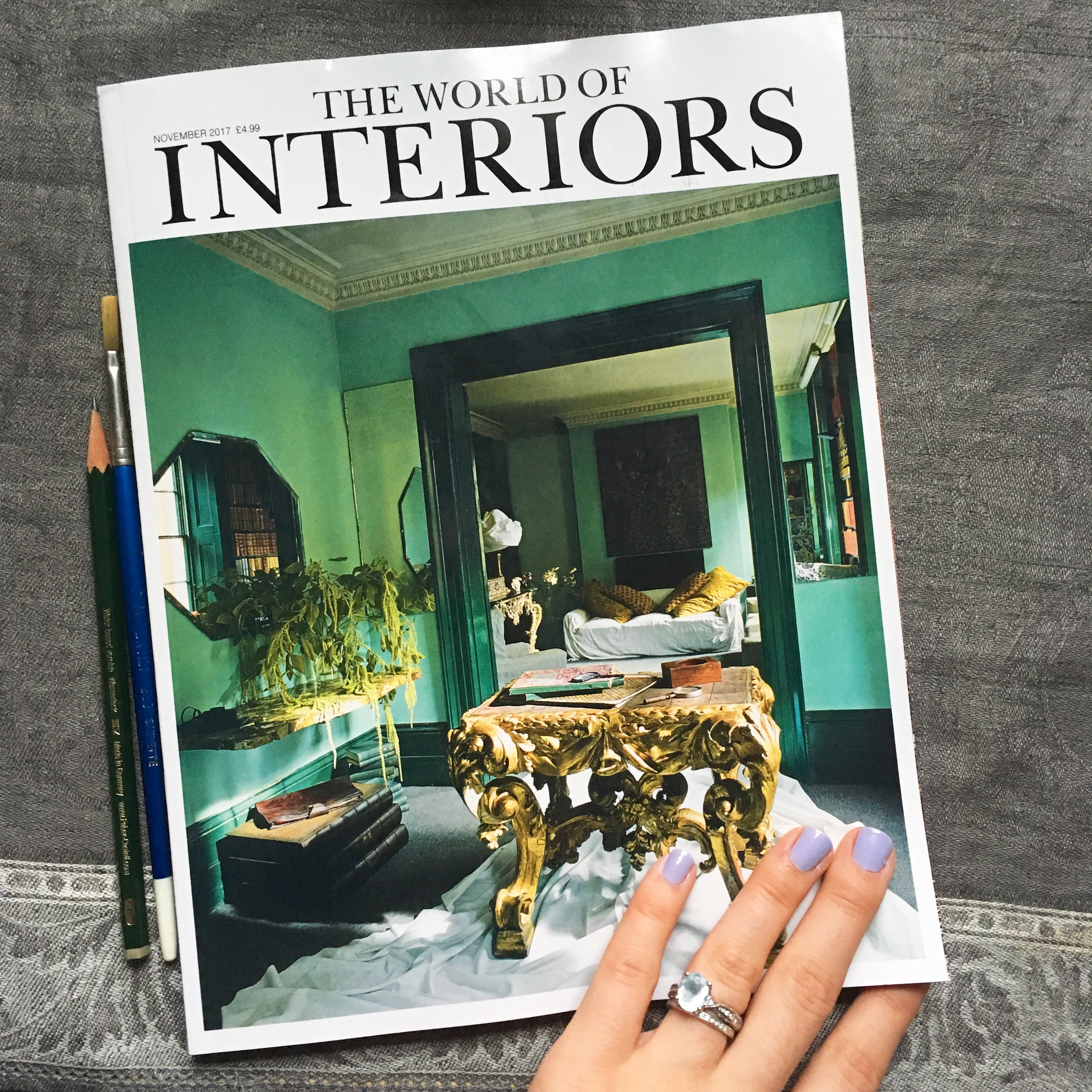 Lydia Marie Elizabeth interior and architectural portraiture and illustration as featured in Conde Nast's Wolrd of Interiors.jpg