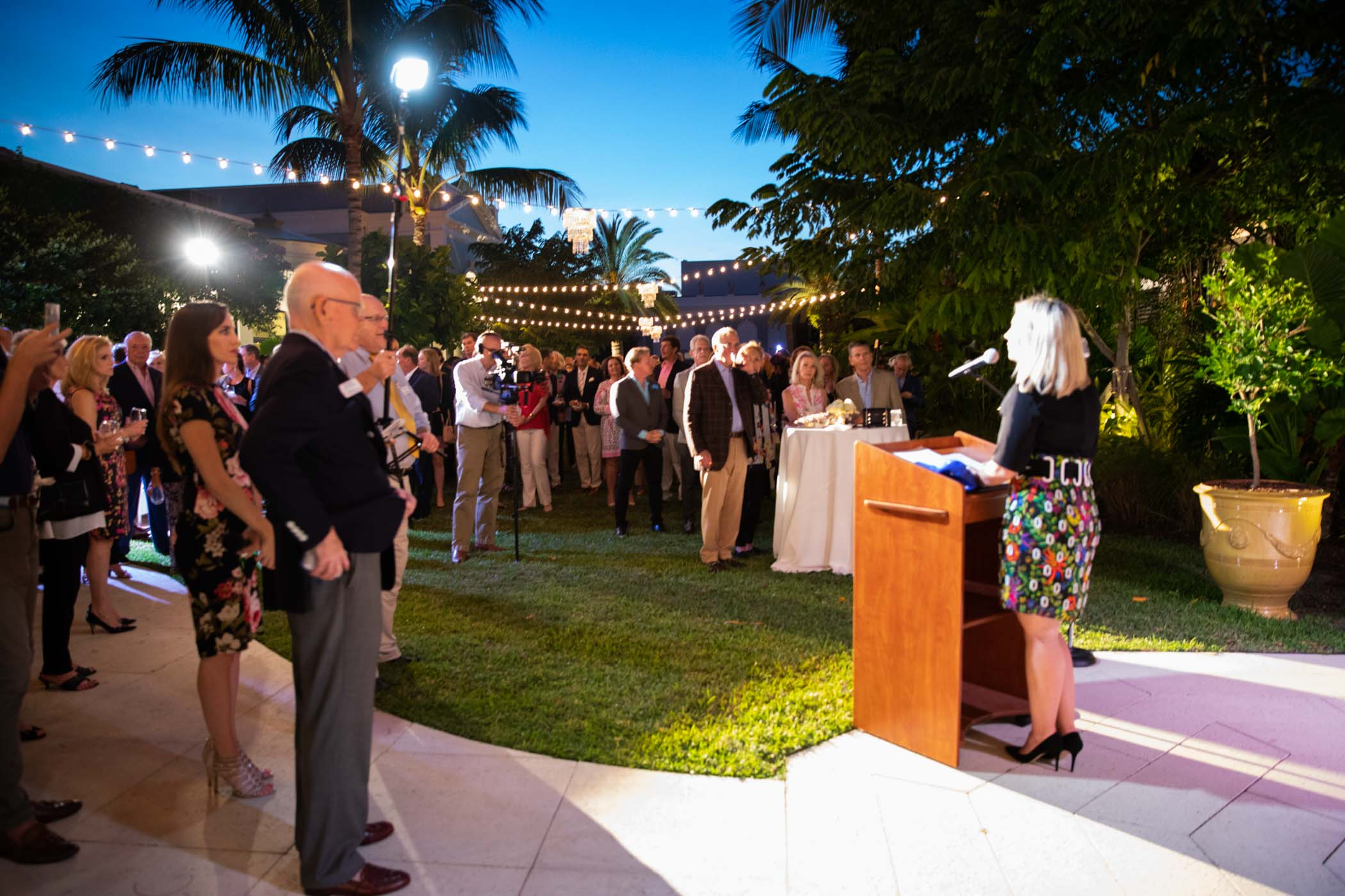 The 75th Anniversary of the Palm Beach Civic Association at the Royal Ponciana in Palm Beach Florida November 26, 2018 with Live Painting by Lydia Marie Elizabeth in watercolor 4.jpg