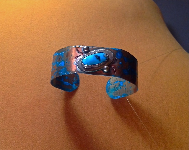 Time to Play Turquoise Bracelet