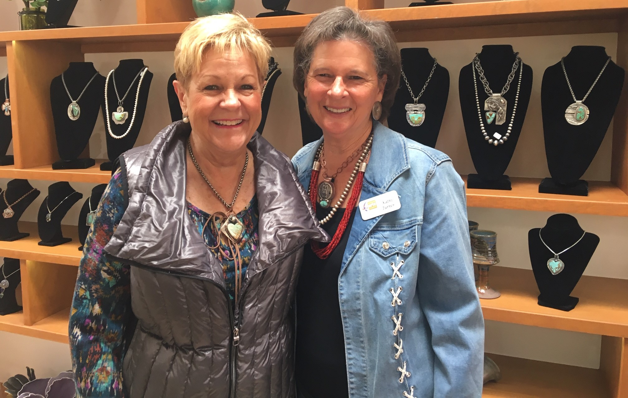 Yesterday, Nancy, my good friend and a devoted collector, stopped in wearing one of my heart pendants. The heart symbol represents the center of emotion – of love and affection – so it's no wonder that so many are attracted to the heart shaped stones that I often use as the focal point of my original works of wearable art.