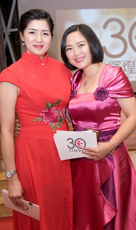 Jade Master Emily Hsu and Diamond Master Cheng Wen Zheng