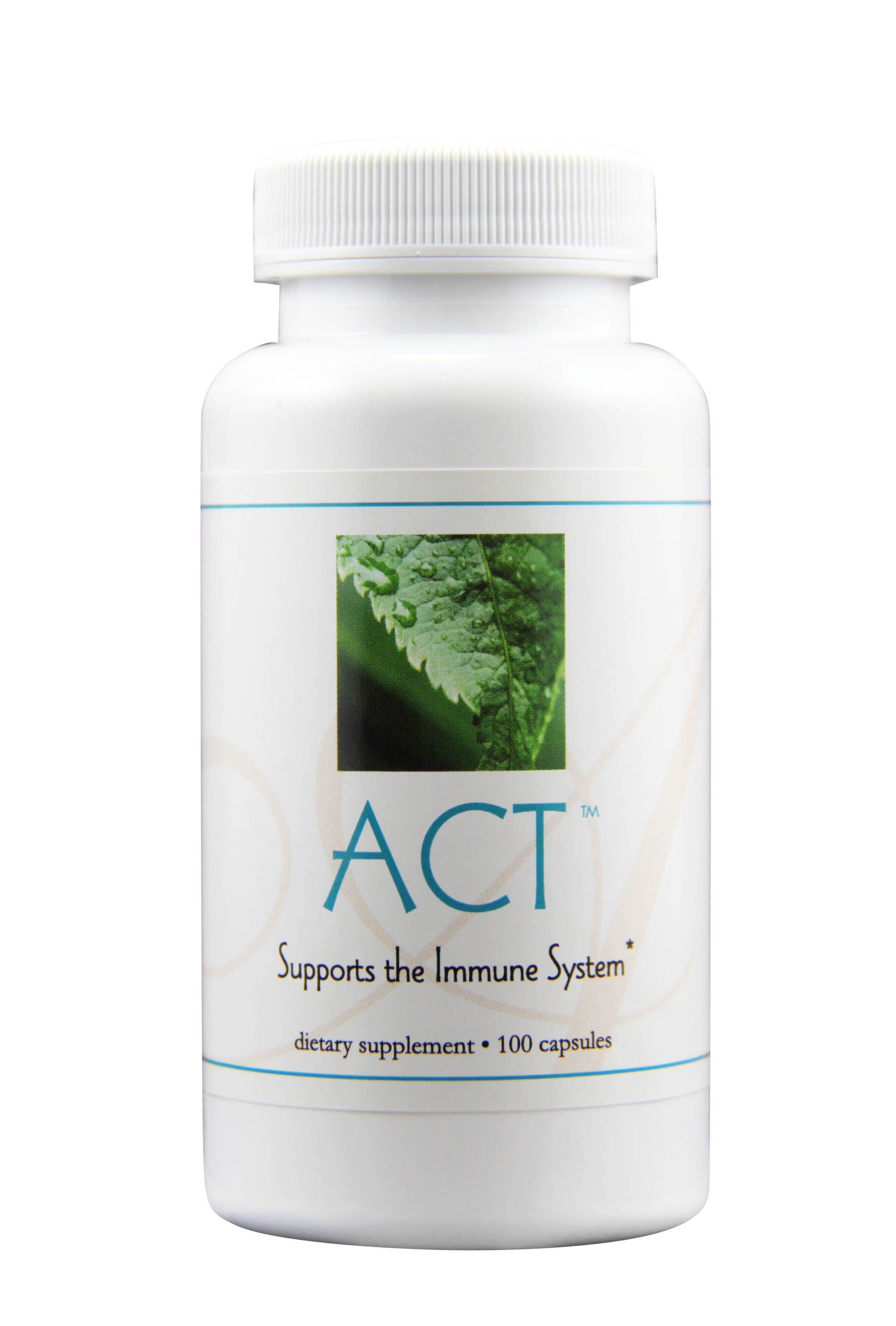 ACT - HELPS TO PROMOTE A HEALTHY IMMUNE SYSTEM*Featured Ingredients: Luffa, Reishi, Barley Leaf, Tangerine Peel