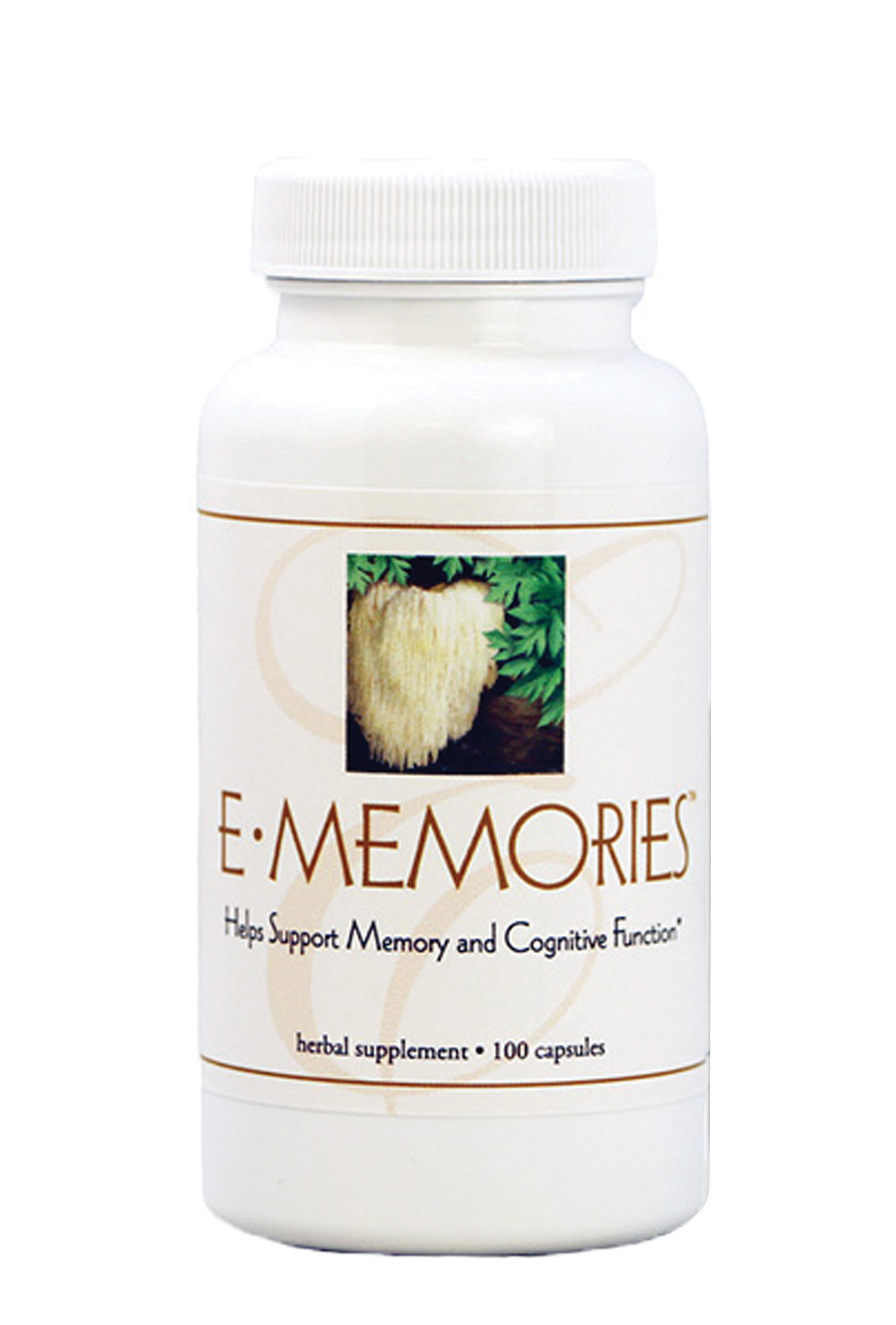 E•MEMORIES - HELPS TO PROMOTE MENTAL CLARITY AND FOCUS*Featured Ingredients: Lion's Mane Mushroom, Panax Ginseng, Ashitaba