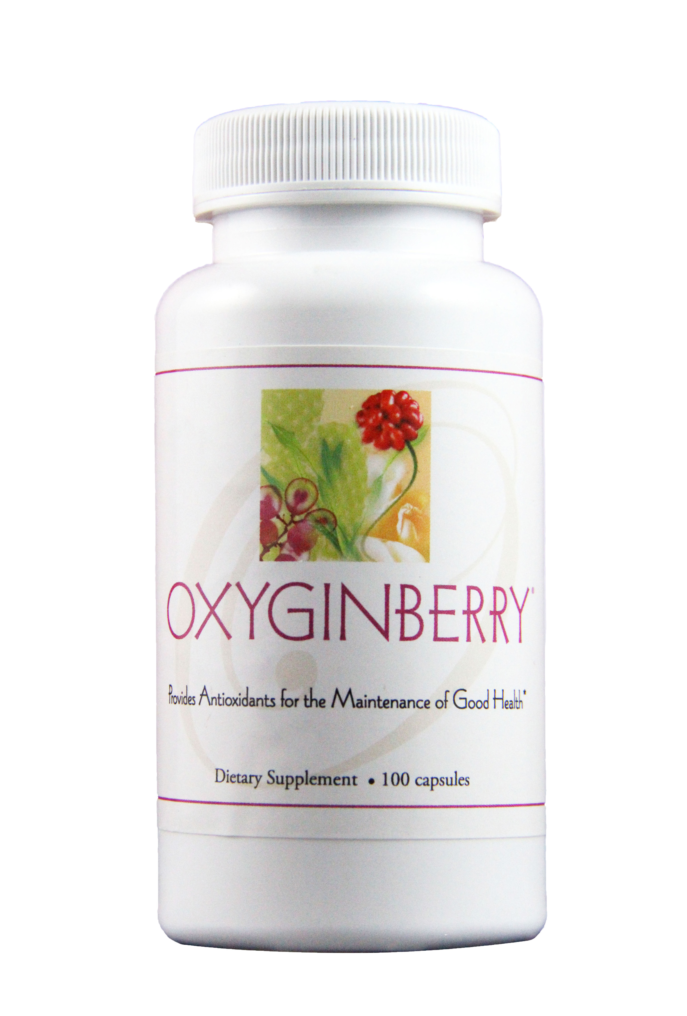 oxyginberry - Beautiful skin requires nourishment from the inside out. Oxyginberry capsules are carefully formulated with precious botanicals for optimal nourishment to help skin radiate health and beauty. Suitable for daily consumption.*Featured Ingredients: Prickly Pear Cactus Pad & Fruit, Panax Ginseng, Seaweed, Rose, Grape seed200 capsules–2 bottles| Code: 30105