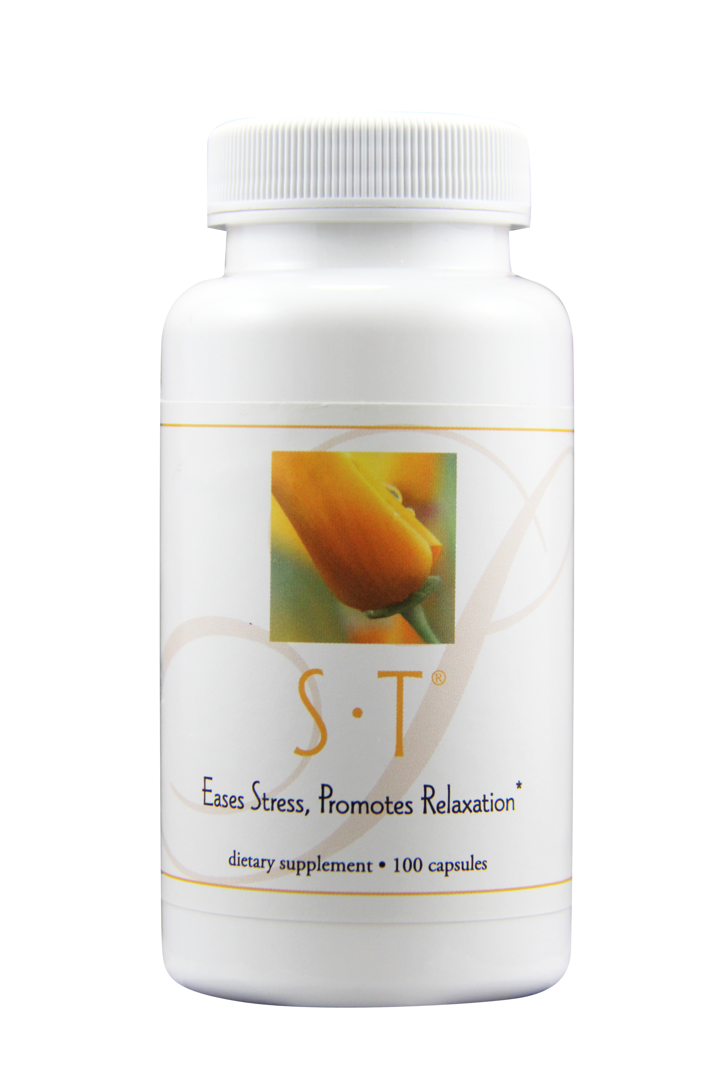 s•t - HELPS TO PROMOTE SERENITY, RELAXATION, AND FOCUS*Featured Ingredients: Privet Fruit, Knotweed, Pearl, Chinese Dodder Seed, Chrysanthemum, Panax Ginseng, Chinese Cassia