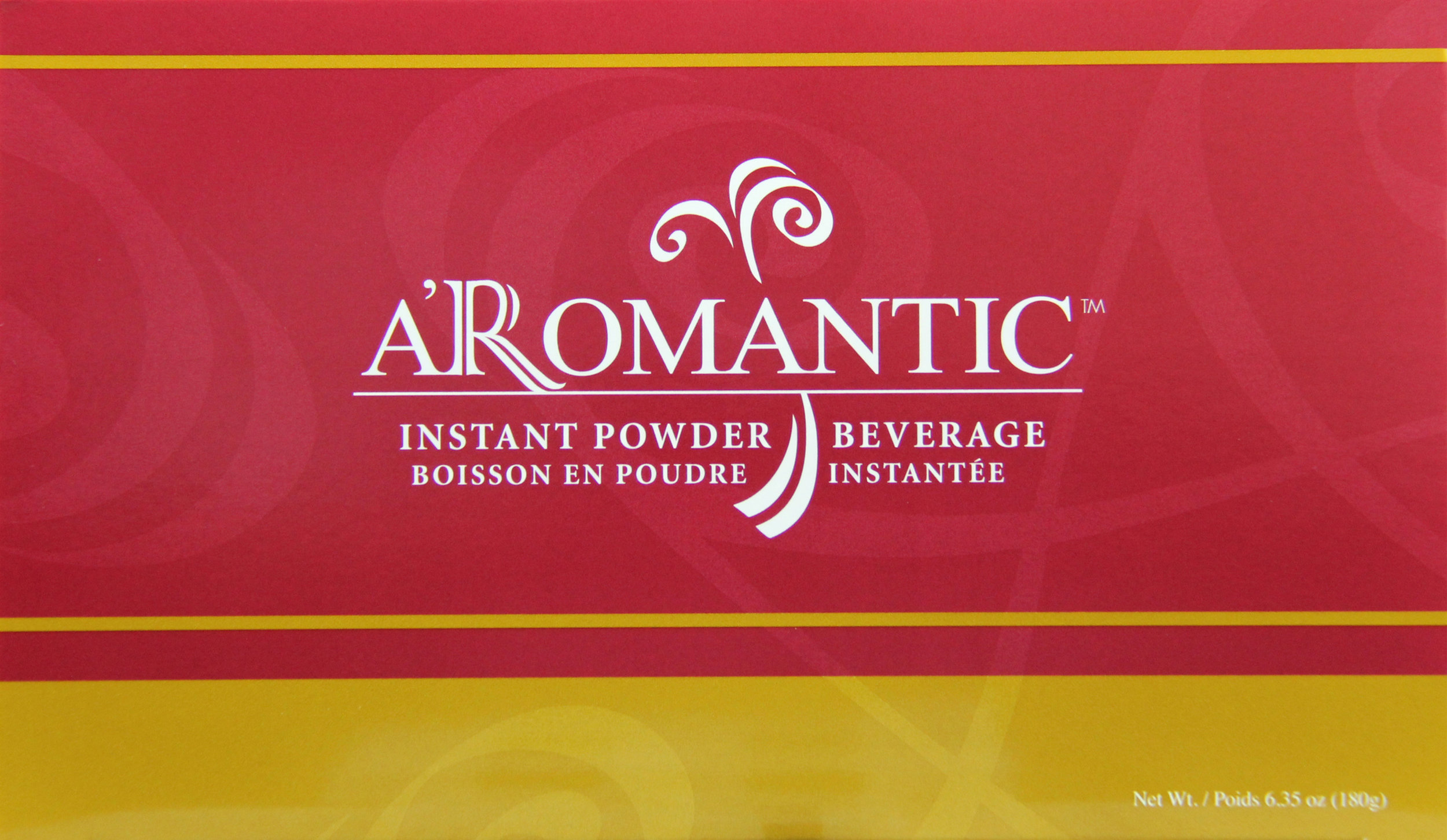 a'romantic - A premium barley tea (coffee alternative) with no stimulants. Low in calories, no added sugars. Delight your senses with the delicious aroma of roasted barley.Featured Ingredients: Barley, Bee Pollen & Pearl