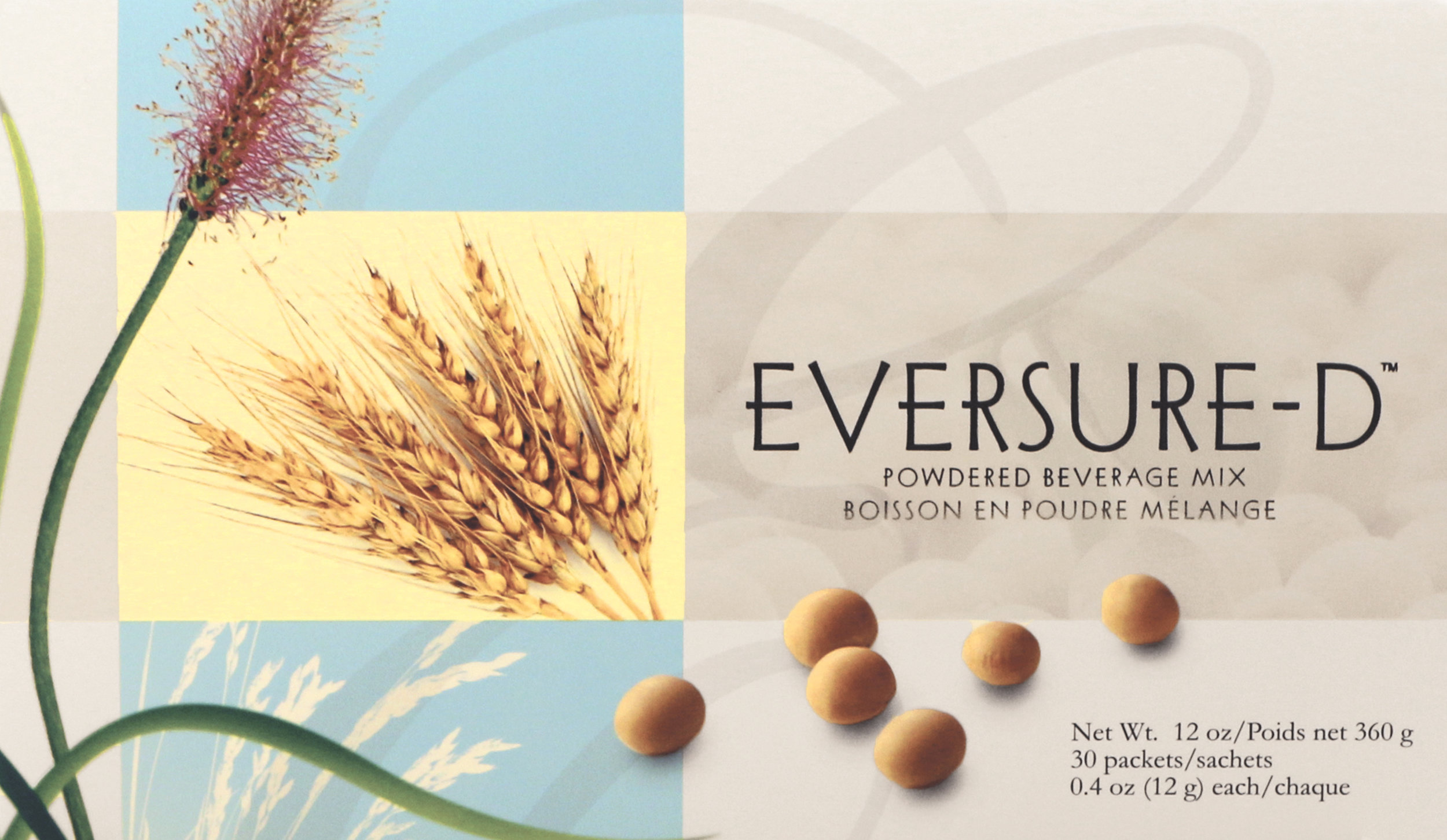 eversure-d - EverSure-D is a healthy, plant-based, low-carb, low-sugar, vegan beverage that contains phytonutrients, such as wholesome non-GMO soy, protein and fiber, not found in animal products.Featured Ingredients: Non-GMO Soy Protein, Psyllium Husk, Wheat Bran